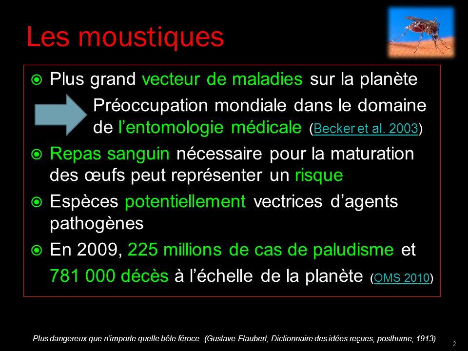 Les moustiques Plus grand vecteur de maladies sur la planète