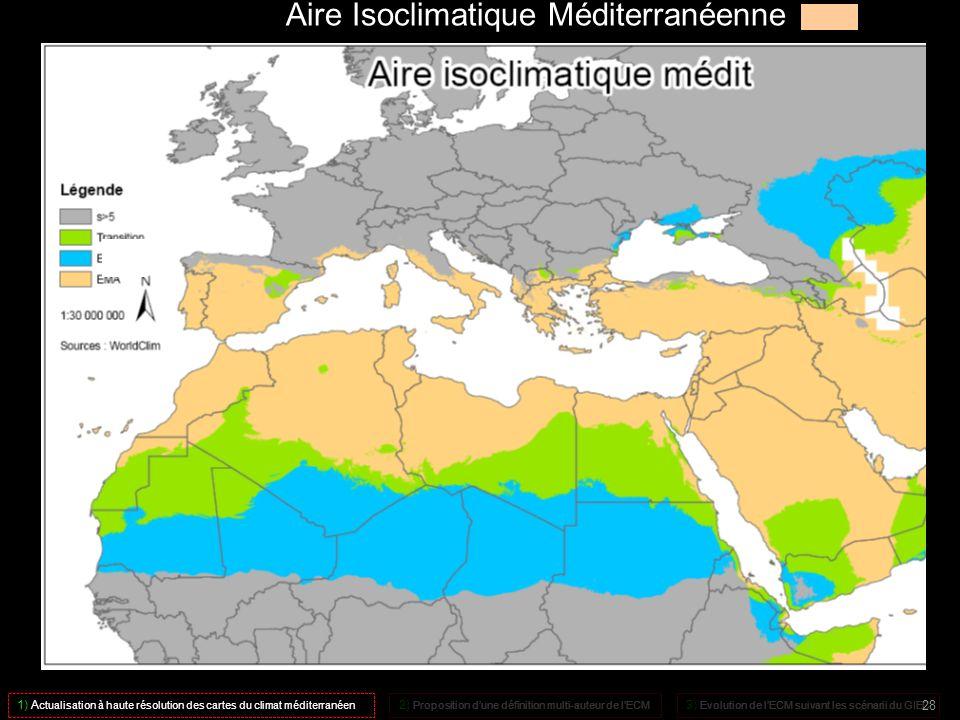 Aire Isoclimatique Méditerranéenne