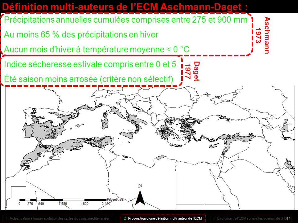 Définition multi-auteurs de l'ECM Aschmann-Daget :