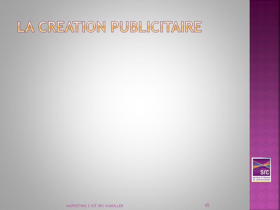 LA CREATION PUBLICITAIRE