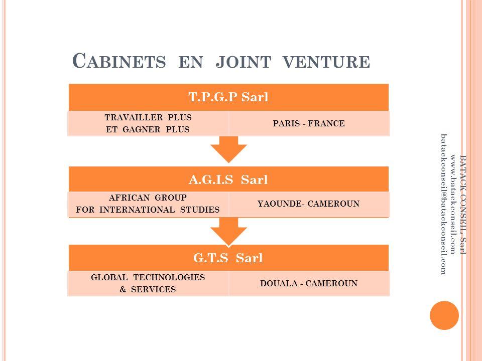 Batack conseil sarl descente du centenaire akwa douala - Cabinet de conseil en developpement international ...
