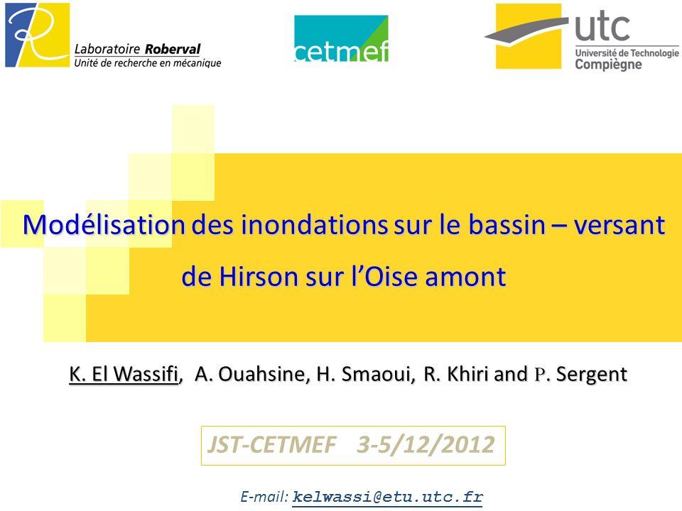 sdfs<fc Modélisation des inondations sur le bassin – versant de Hirson sur l'Oise amont.