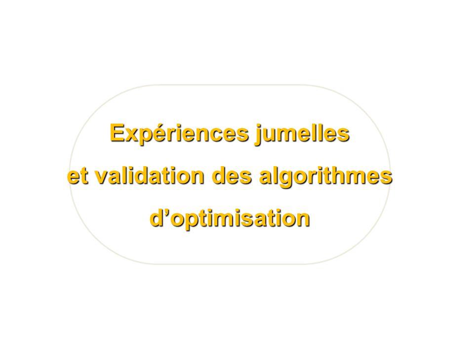et validation des algorithmes
