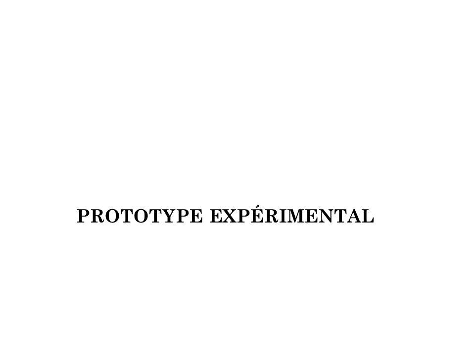 Prototype Expérimental