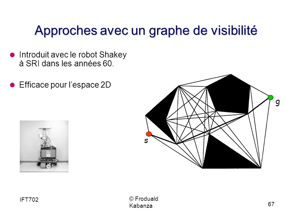 Approches avec un graphe de visibilité