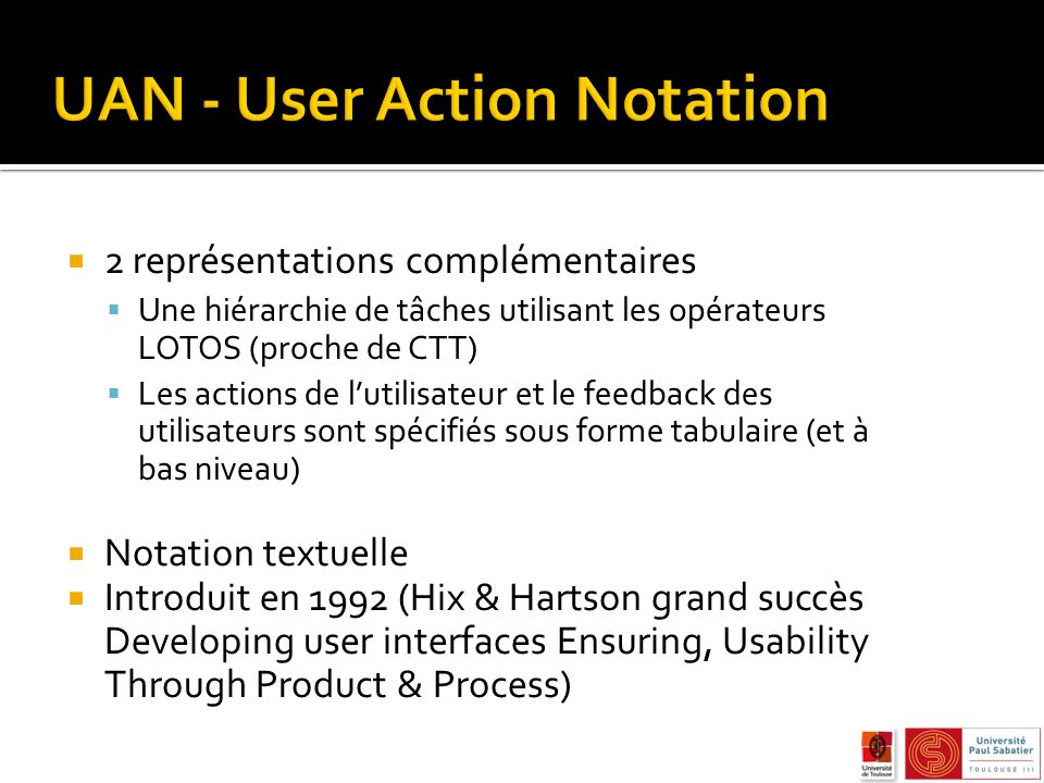 UAN - User Action Notation