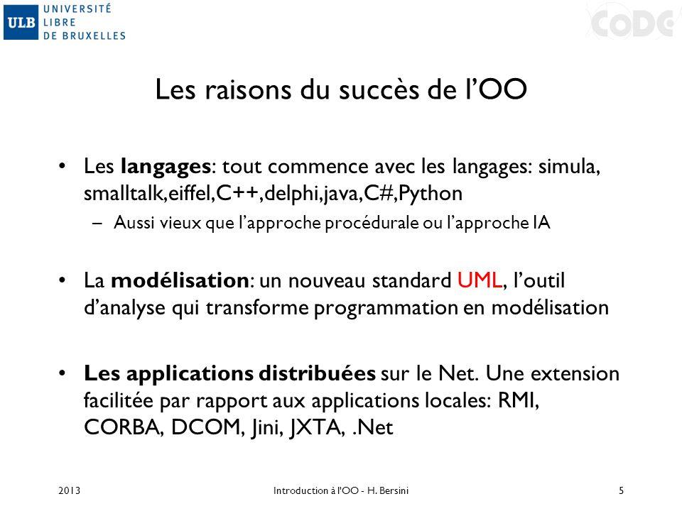 Les raisons du succès de l'OO
