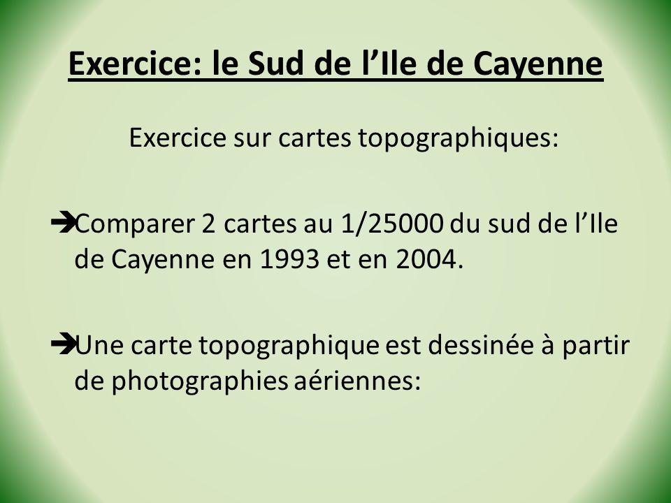 Exercice: le Sud de l'Ile de Cayenne