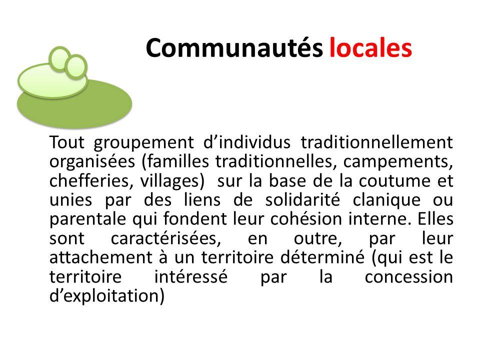 Communautés locales