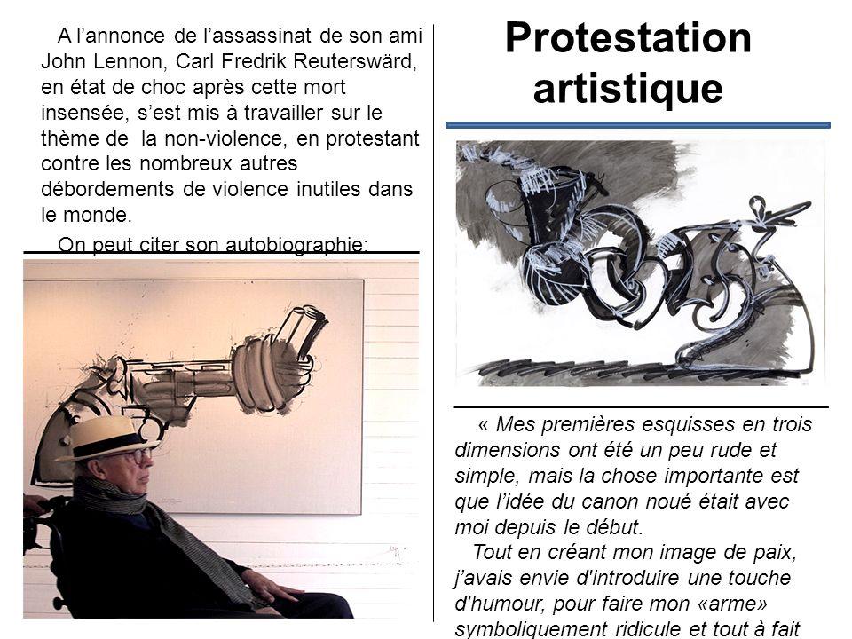 Protestation artistique