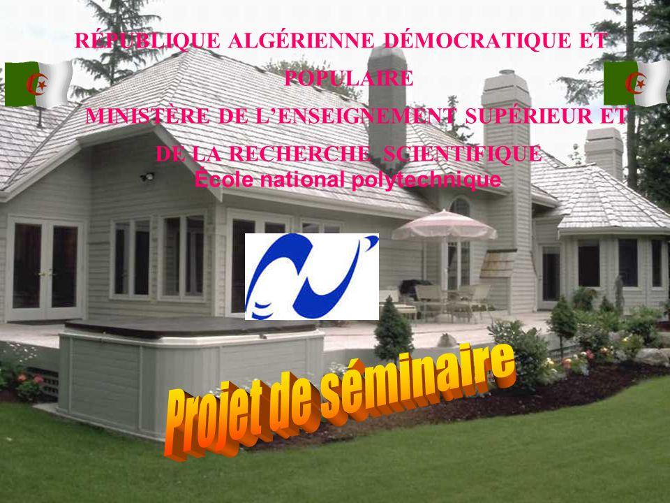 Projet de séminaire  École national polytechnique