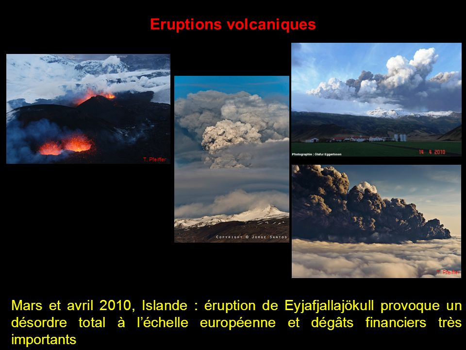 Eruptions volcaniques