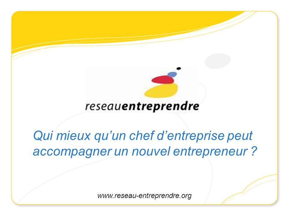 Qui mieux qu'un chef d'entreprise peut accompagner un nouvel entrepreneur