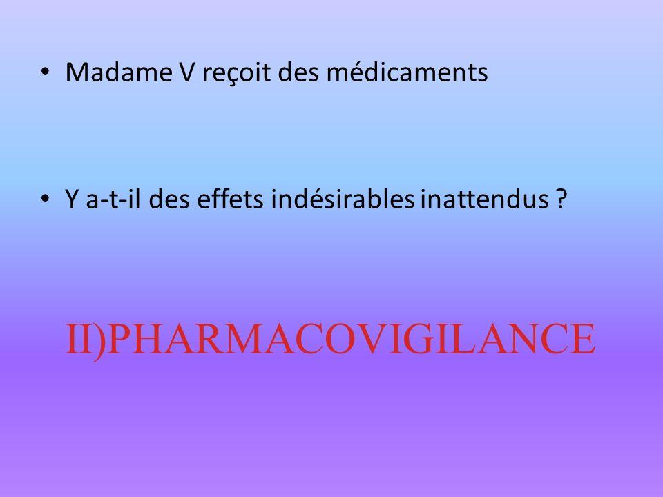 II)PHARMACOVIGILANCE