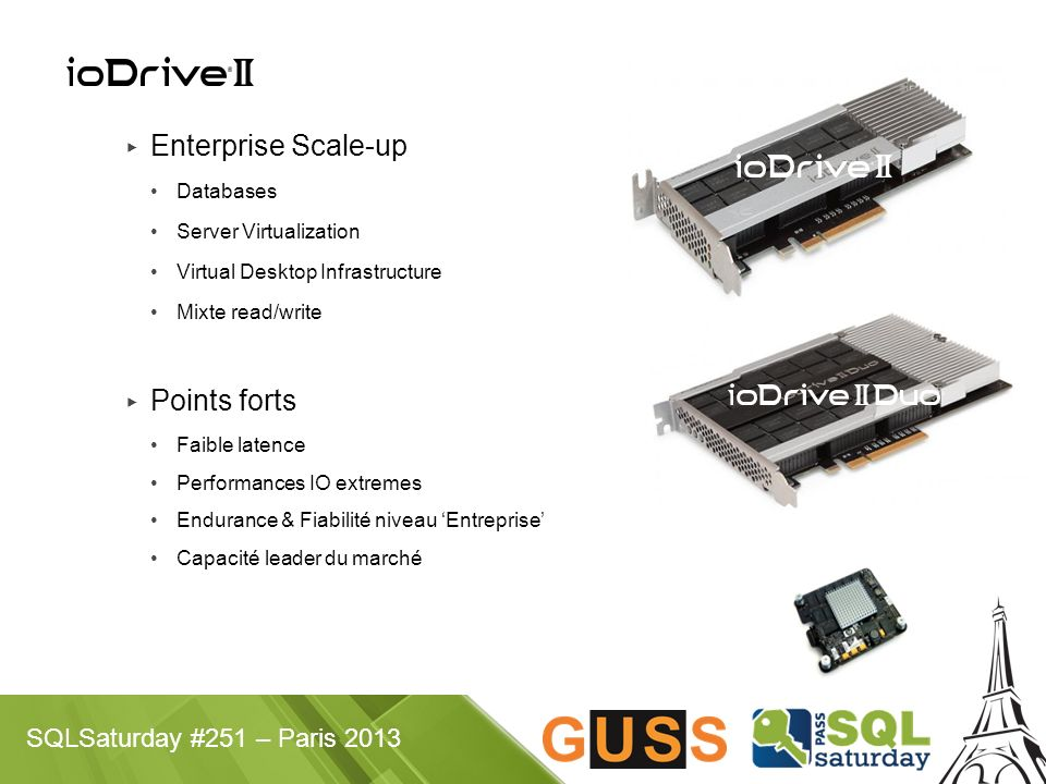 Enterprise Scale-up Points forts Databases Server Virtualization