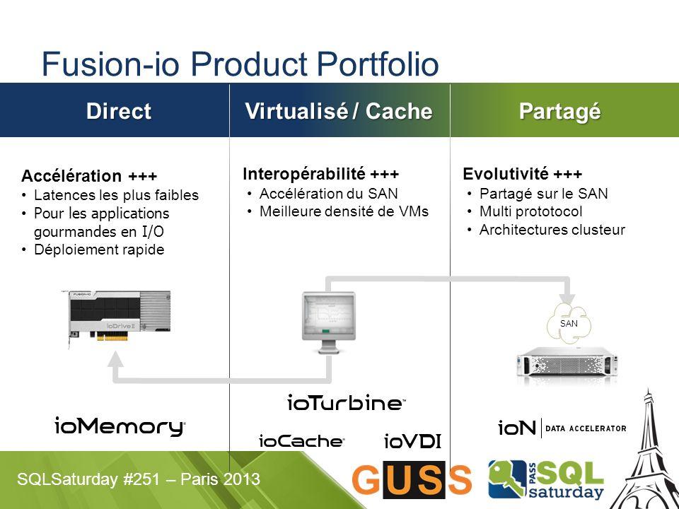Fusion-io Product Portfolio