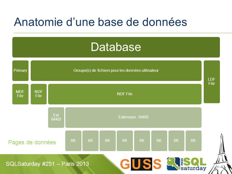 Anatomie d'une base de données
