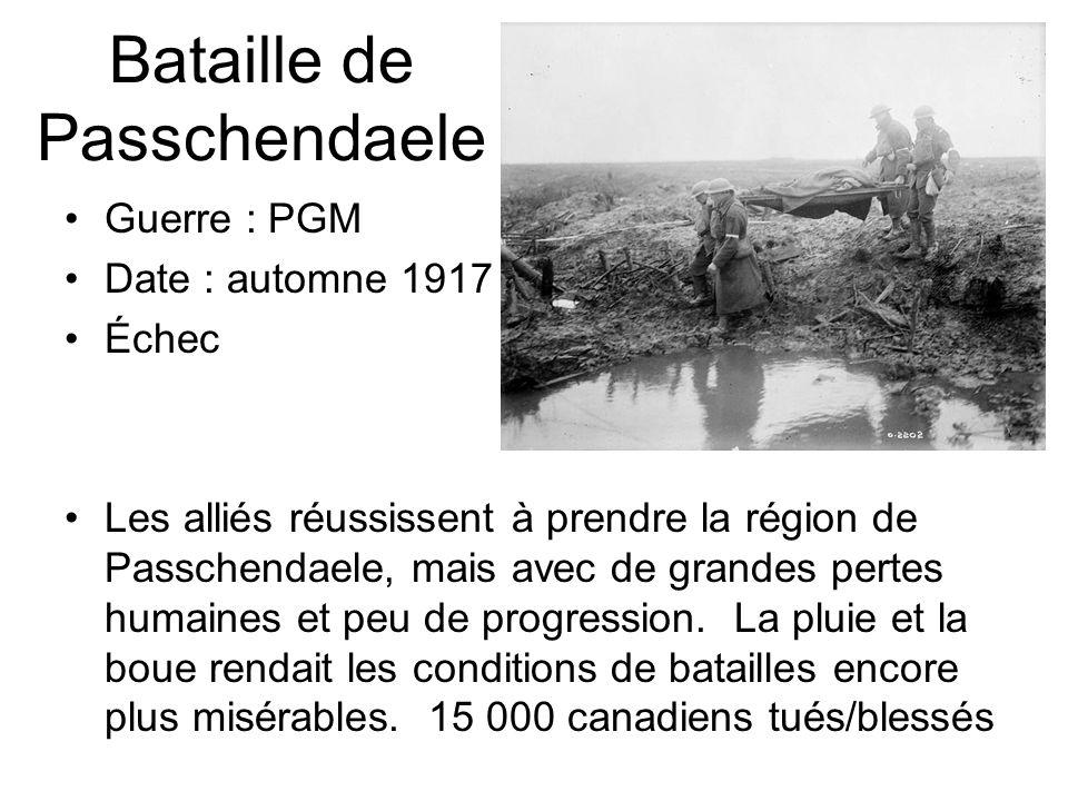 Bataille de Passchendaele