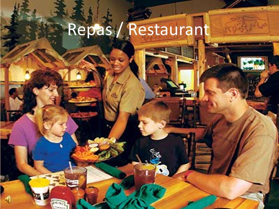 Repas / Restaurant