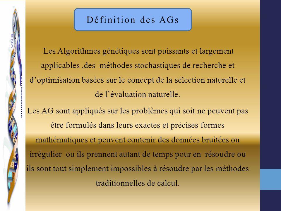 Définition des AGs