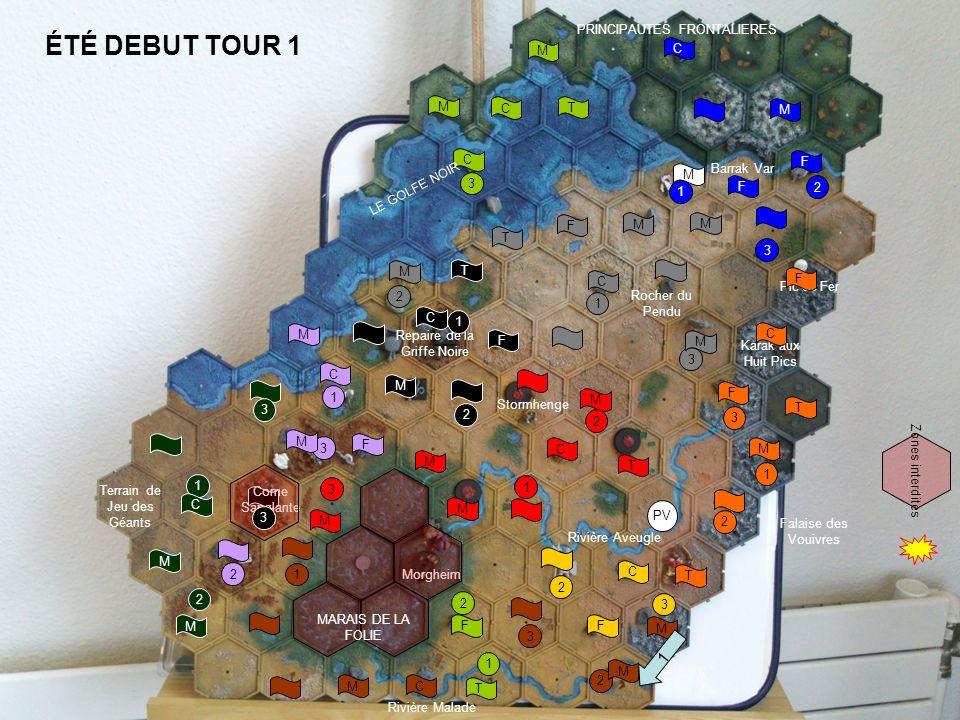 ÉTÉ DEBUT TOUR 1 1 PRINCIPAUTES FRONTALIERES M C M C T M C Barrak Var