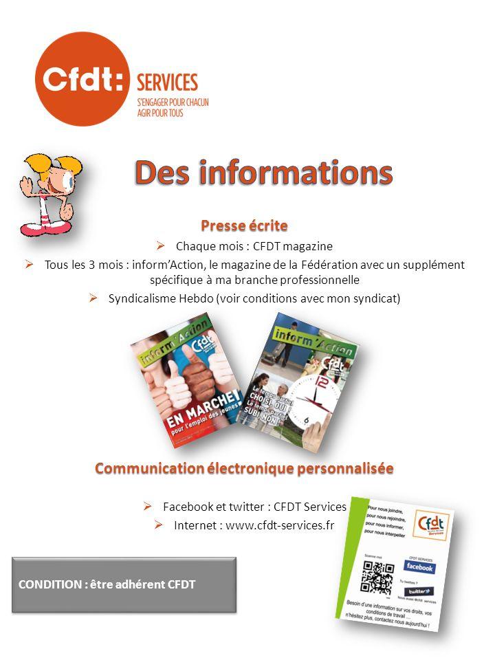 Communication électronique personnalisée