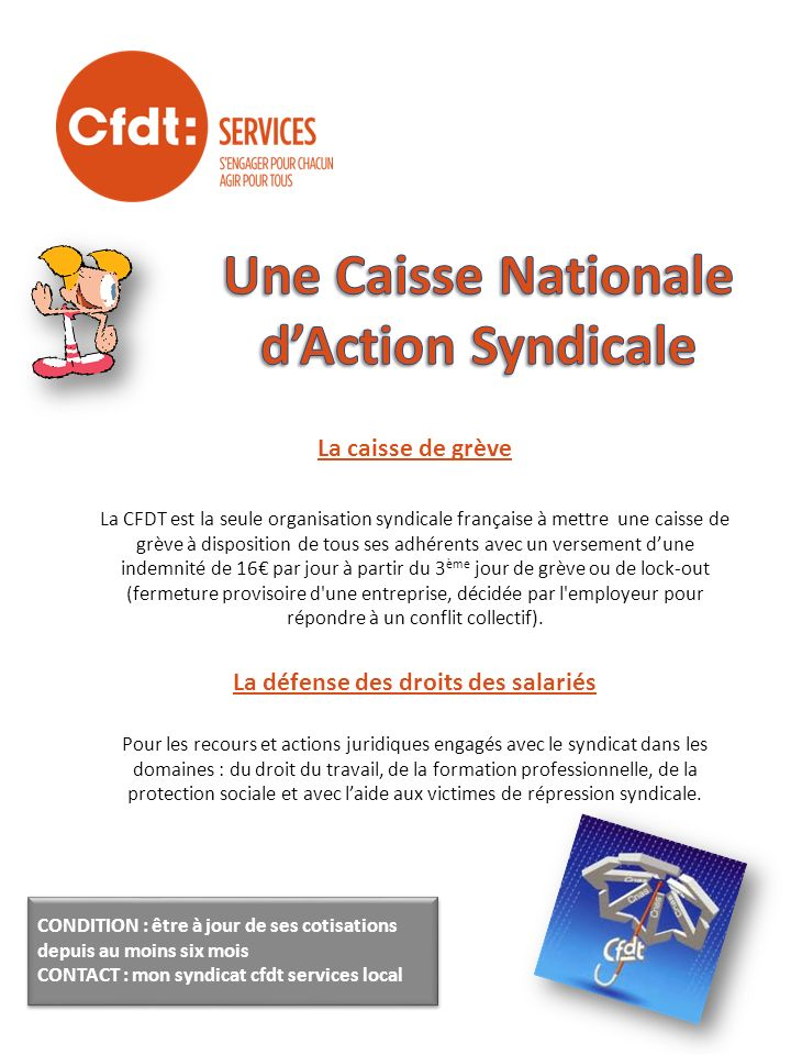 Une Caisse Nationale d'Action Syndicale
