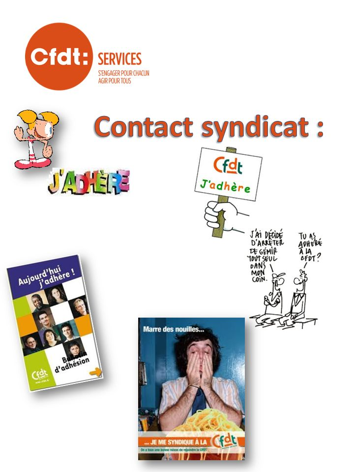 Contact syndicat :