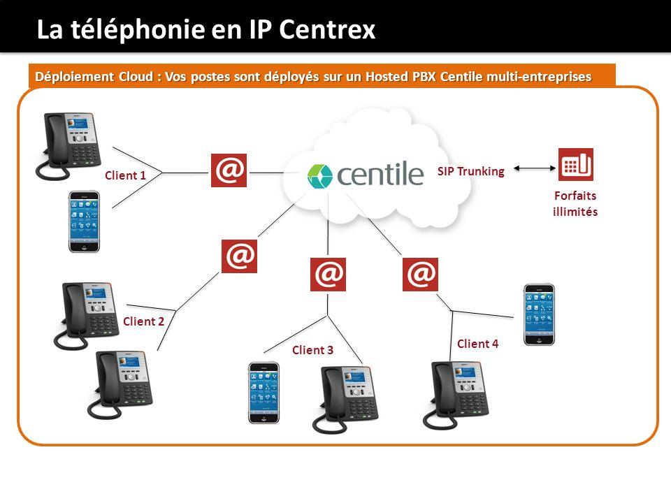 La téléphonie en IP Centrex