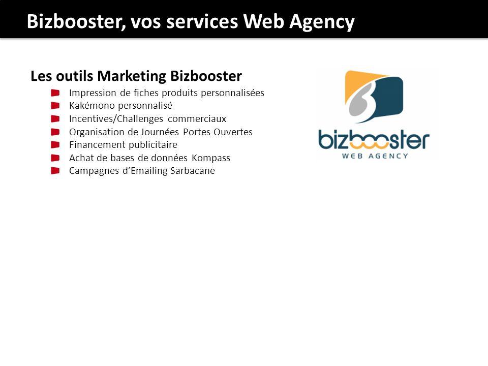 Bizbooster, vos services Web Agency