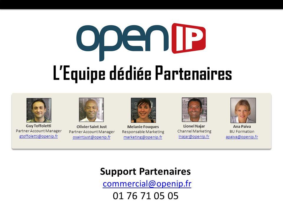 L'Equipe dédiée Partenaires