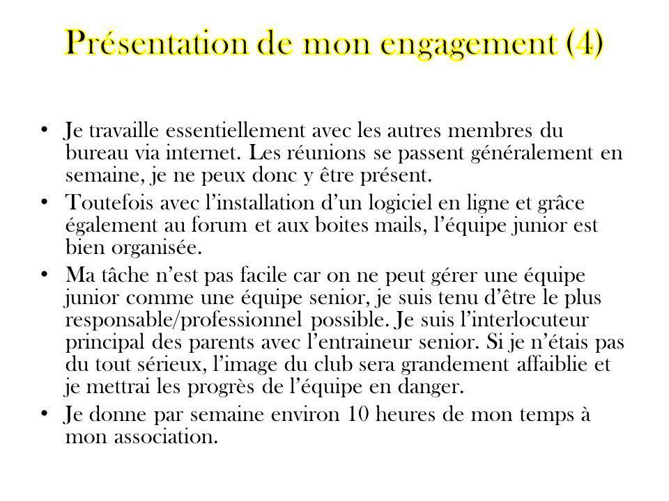 Présentation de mon engagement (4)