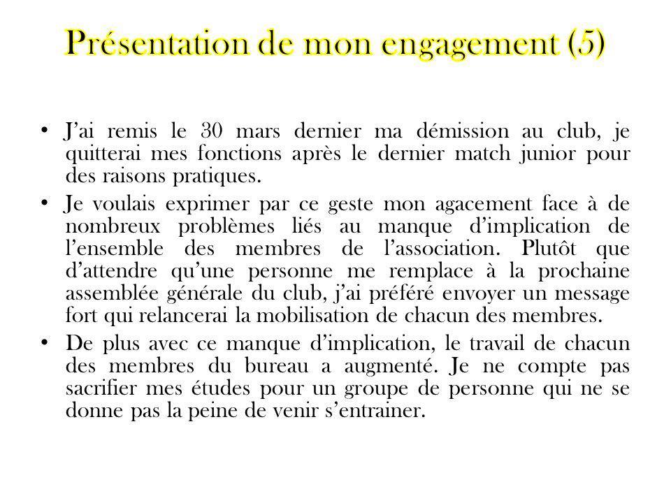 Présentation de mon engagement (5)