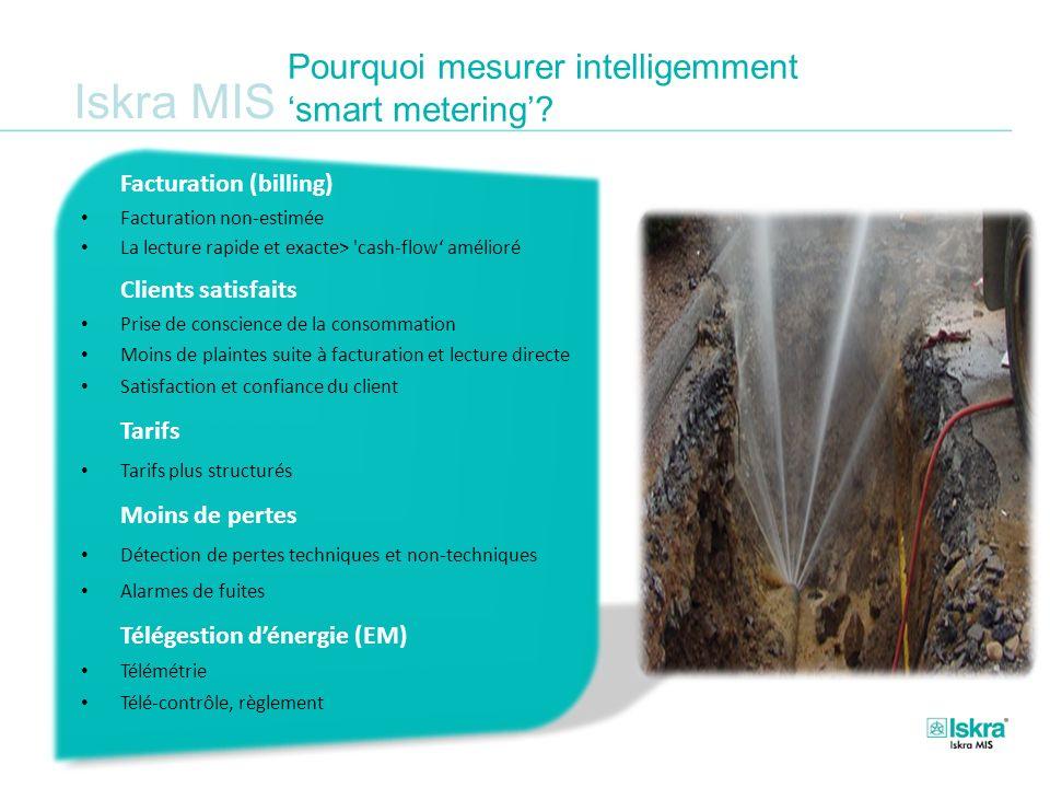 Pourquoi mesurer intelligemment 'smart metering'
