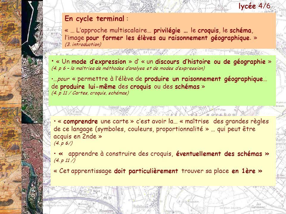 lycée 4/6 En cycle terminal :
