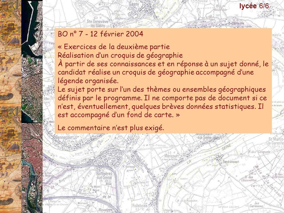 lycée 6/6 BO n° 7 - 12 février 2004.