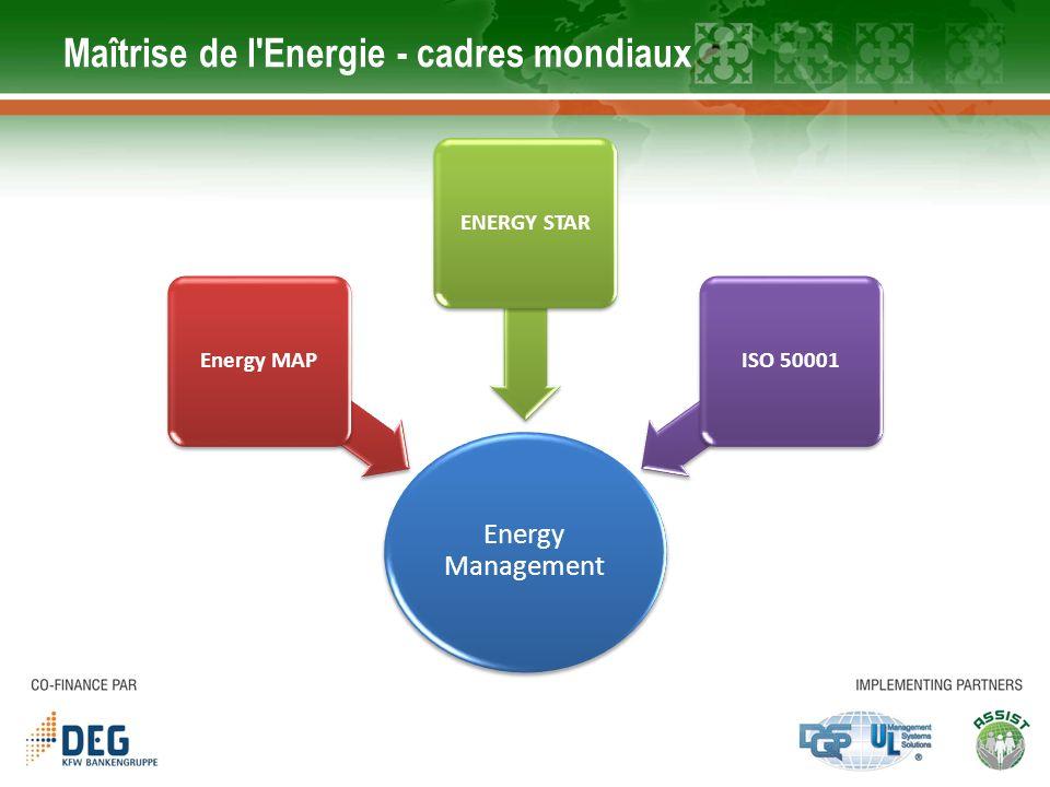 Maîtrise de l Energie - cadres mondiaux