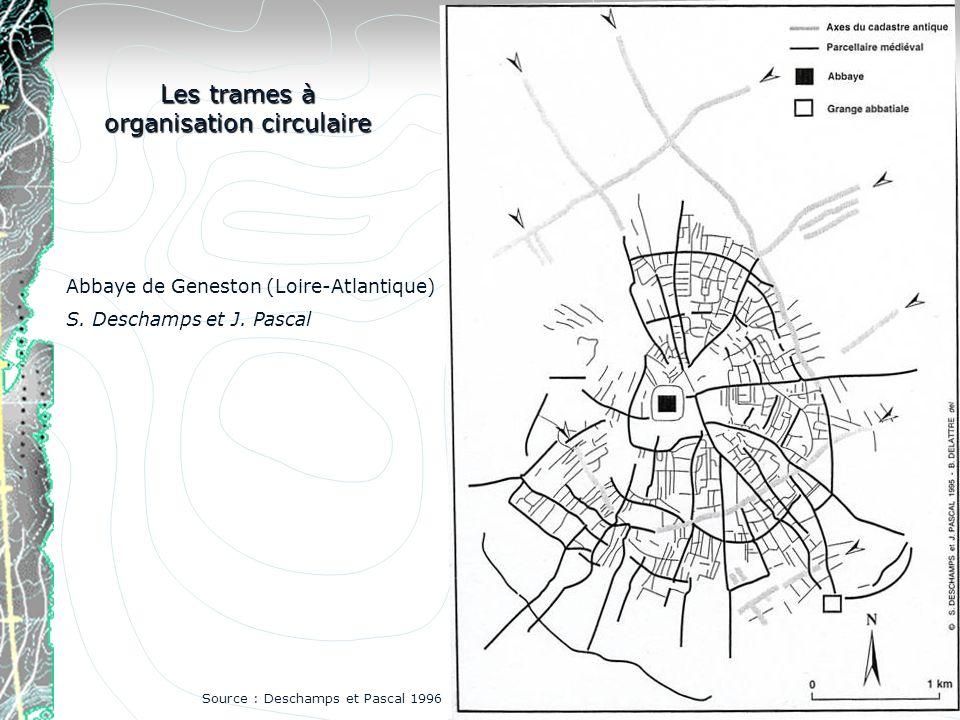 Les trames à organisation circulaire