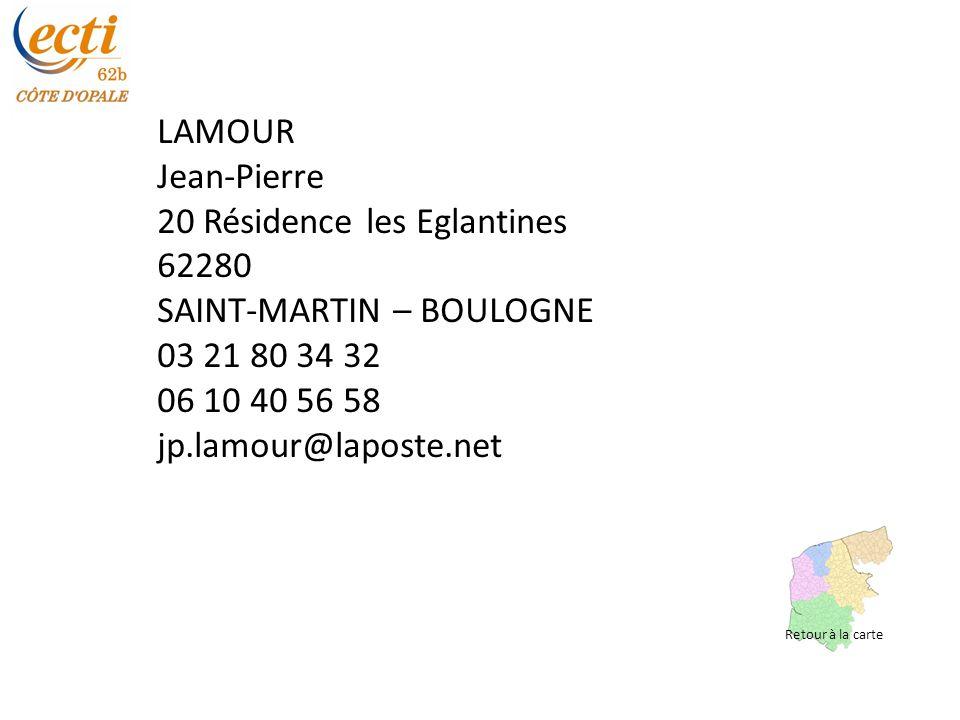 20 Résidence les Eglantines 62280 SAINT-MARTIN – BOULOGNE