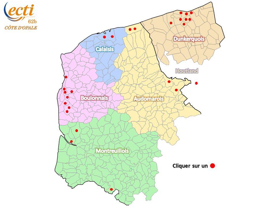 Dunkerquois Calaisis Houtland Boulonnais Audomarois Montreuillois Cliquer sur un