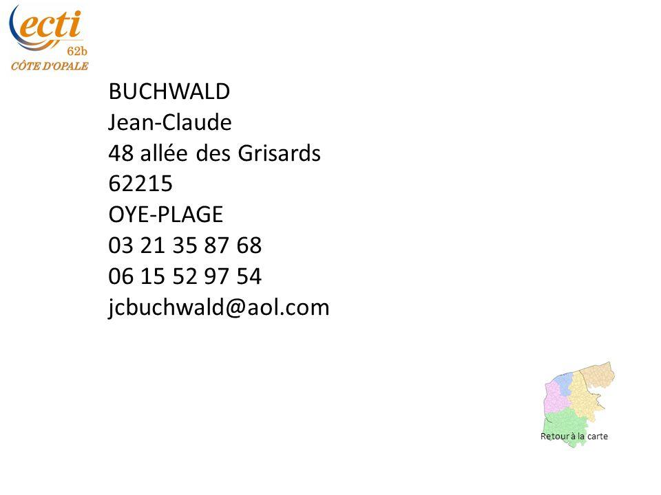 BUCHWALD Jean-Claude 48 allée des Grisards 62215 OYE-PLAGE