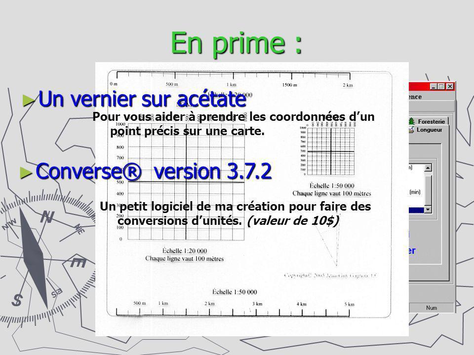 En prime : Un vernier sur acétate Converse® version 3.7.2