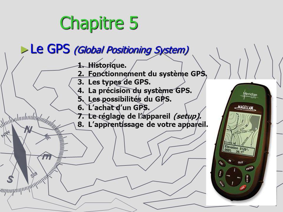 Chapitre 5 Le GPS (Global Positioning System) Historique.