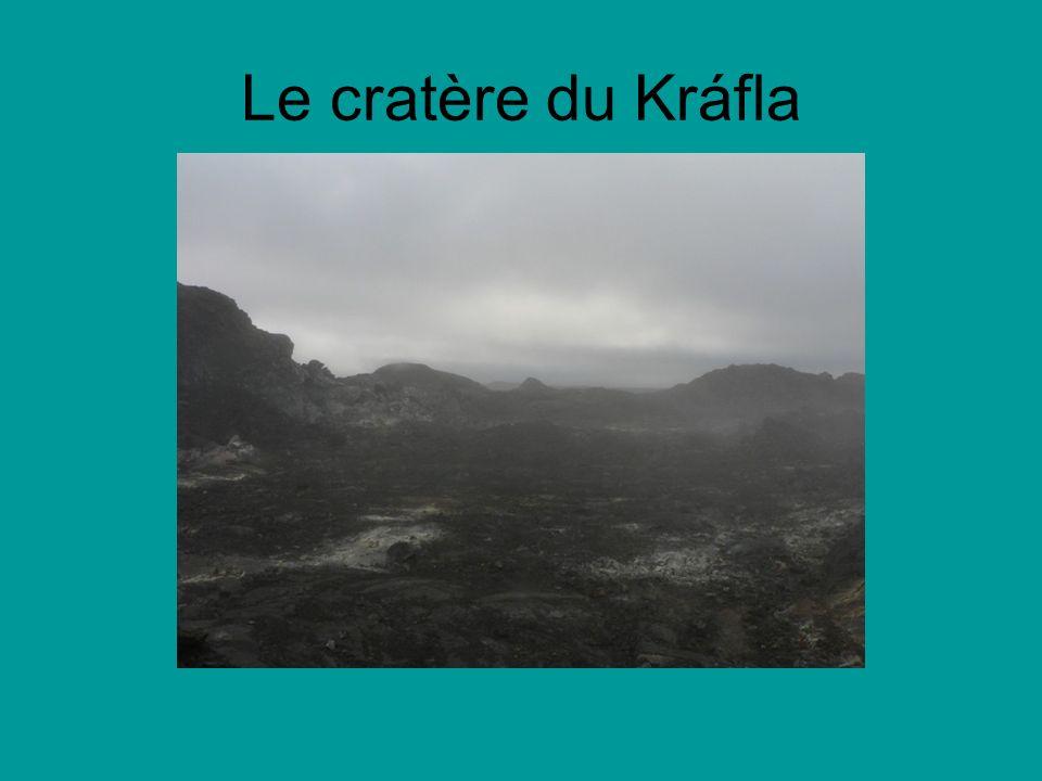 Le cratère du Kráfla