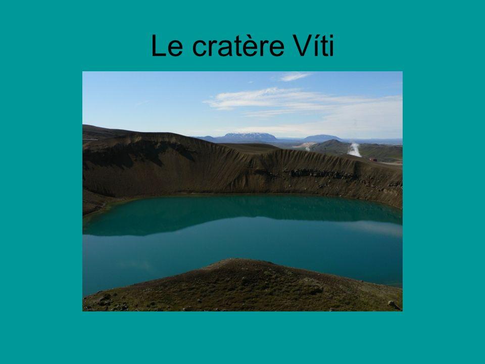 Le cratère Víti