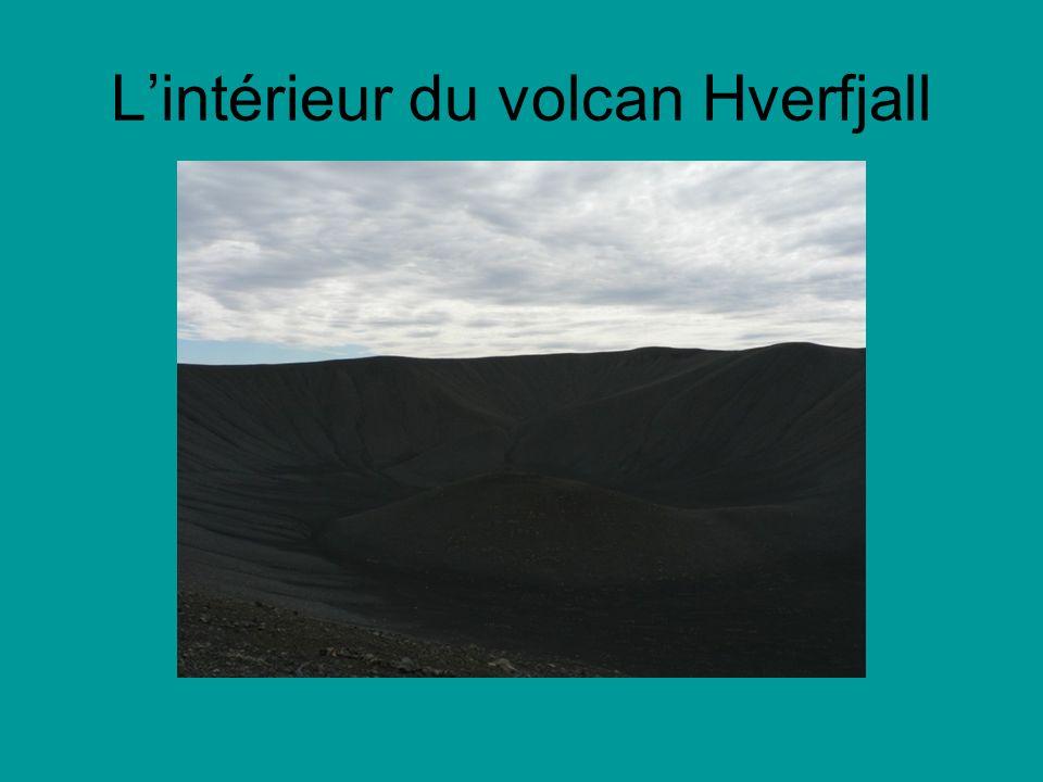 L'intérieur du volcan Hverfjall