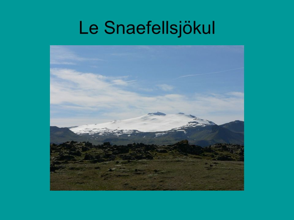 Le Snaefellsjökul