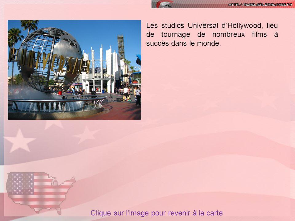 Les studios Universal d'Hollywood, lieu de tournage de nombreux films à succès dans le monde.