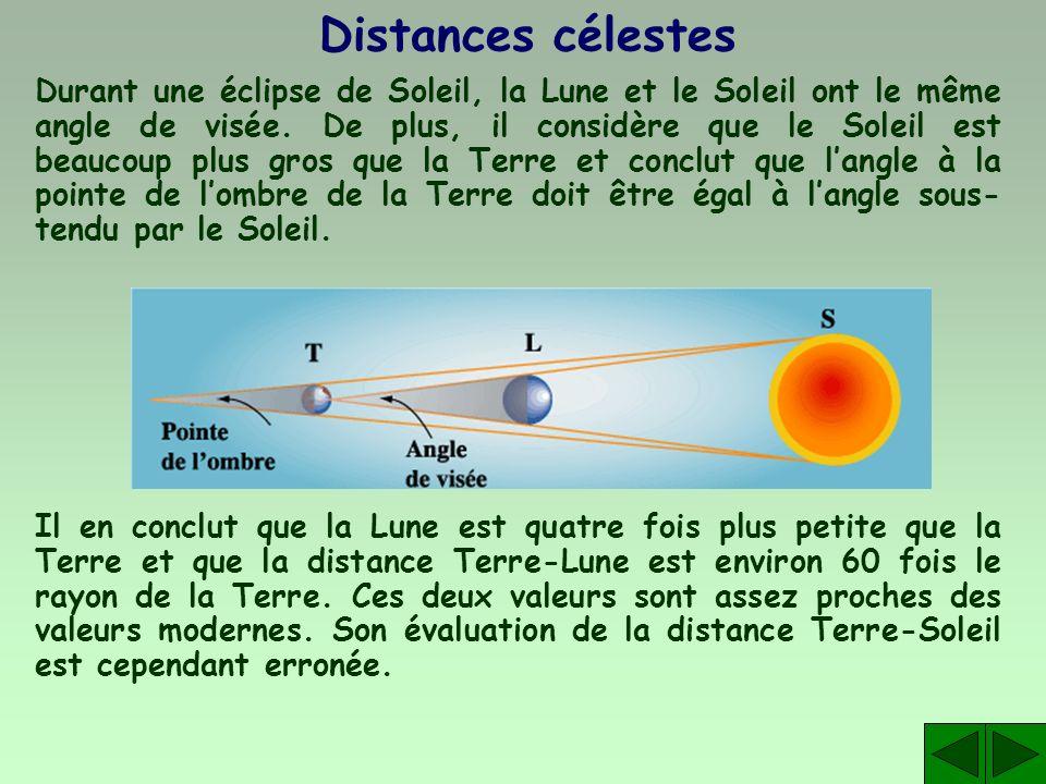 Distances célestes