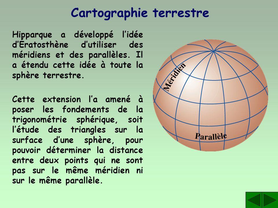 Cartographie terrestre